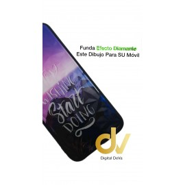 P40 Lite HUAWEI FUNDA DIAMOND Cut STOP WISHING ...