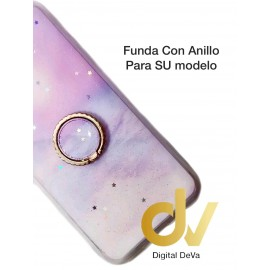 DV A51 SAMSUNG FUNDA CON ANILLO LILA