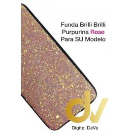 A51 SAMSUNG FUNDA Brilli Brilli Purpurina ROSE