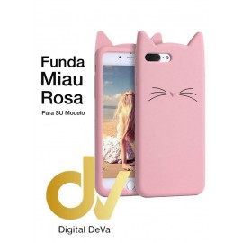 DV IPHONE XR 6.1 FUNDA MIAU ROSA