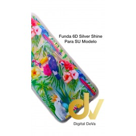 S20 Samsung Funda 6D Silver Shine AVES