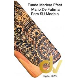 DV J4 PLUS SAMSUNG FUNDA WOOD EFFECT MANO FATIMA