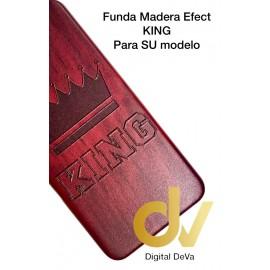 S9 Plus Samsung Funda Madera Efect KING