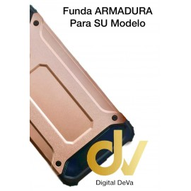 DV Y6 2018 HUAWEI FUNDA Armadura ROSA DORADO