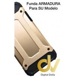 DV  A6 2018 SAMSUNG  FUNDA ARMADURA DORADO