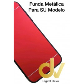 DV A8 2018 SAMSUNG FUNDA LIBRO METALICA ROJO