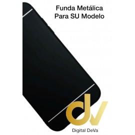 A7 2018 SAMSUNG FUNDA Metalica NEGRO