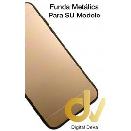 J4 2018 SAMSUNG FUNDA Metalica DORADO