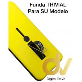 S9 Plus Samsung Funda Trivial 2 en 1 AMARILLO