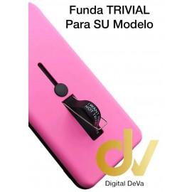 S9 Plus Samsung Funda Trivial 2 en 1 ROSA