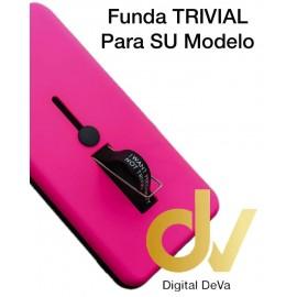 A70 SAMSUNG Funda Trivial 2 en 1 ROSA FUCSIA