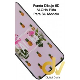 DV J6 PLUS  SAMSUNG  FUNDA DIBUJO RELIEVE 5D ALOHA