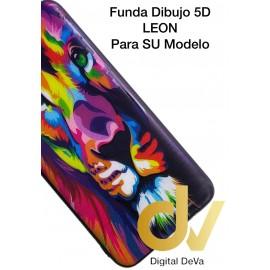 DV A30 SAMSUNG  FUNDA DIBUJO RELIEVE 5D LEON COLORES