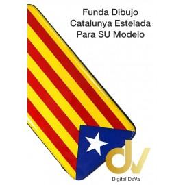 DV S10 SAMSUNG FUNDA DIBUJO RELIEVE 5D BANDERA CATALUÑA