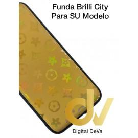 DV MATE 20 LITE HUAWEI FUNDA ESTRELLAS DEL CITY SHINE DORADO
