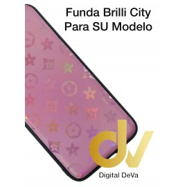 DV A40 SAMSUNG FUNDA ESTRELLAS DEL CITY SHINE  ROSA
