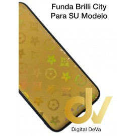 A7 2018 SAMSUNG  FUNDA Brilli City DORADO