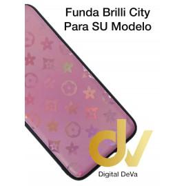 DV A7 2018 SAMSUNG FUNDA ESTRELLAS DEL CITY SHINE  ROSA