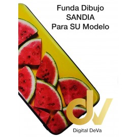 DV J6 PLUS  SAMSUNG  FUNDA DIBUJO RELIEVE 5D SANDIA