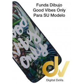 DV J6 PLUS  SAMSUNG  FUNDA DIBUJO RELIEVE 5D GOOD VIBES