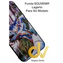 DV iPHONE Xr FUNDA Souvenir 5D LAGARTO