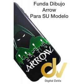 DV  J4 PLUS  SAMSUNG  FUNDA DIBUJO RELIEVE 5D ARROW