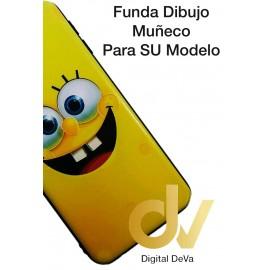 DV  J4 PLUS  SAMSUNG  FUNDA DIBUJO RELIEVE 5D SONRISA