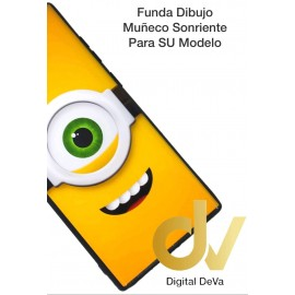 DV J6 PLUS  SAMSUNG  FUNDA DIBUJO RELIEVE 5D OJO