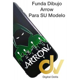 DV J6 PLUS  SAMSUNG  FUNDA DIBUJO RELIEVE 5D ARROW