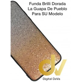 DV FUNDA BRILLI TORNASOLES IPHONE X MAX DORADO