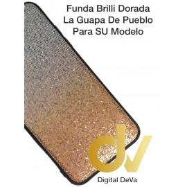 DV S9 PLUS  SAMSUNG FUNDA BRILLI TORNASOLES DORADO