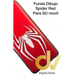 DV A41 SAMSUNG FUNDA DIBUJO RELIEVE 5D SPIDER RED