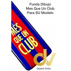 Psmart Z HUAWEI FUNDA Dibujo 5D MES QUE UN CLUB