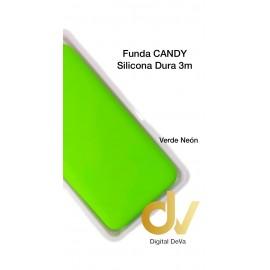 S20 Ultra Samsung Funda Candy Silicona Dura 3MM  VERDE NEON