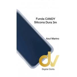 S20 Ultra Samsung Funda Candy Silicona Dura 3MM AZUL