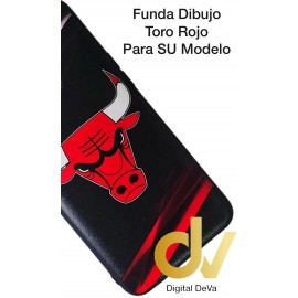 DV K50S LG FUNDA DIBUJO RELIEVE 5D TORO ROJO