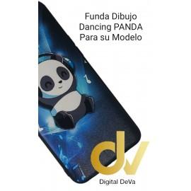 DV REALME 5PRO OPPO FUNDA DIBUJO RELIEVE 5D  DANCING PANDA