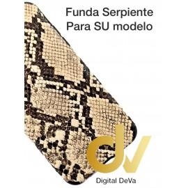 A10S Samsung Funda Serpiente DORADO