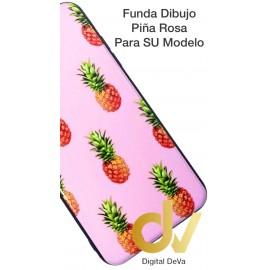 A51 SAMSUNG Funda Dibujo 5D PIÑA ROSA