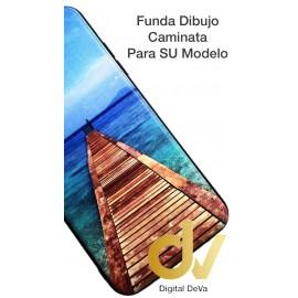 DV A10 SAMSUNG  FUNDA DIBUJO RELIEVE 5D CAMINATA