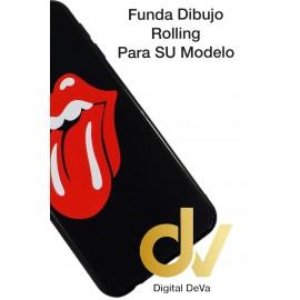 DV  J4 PLUS  SAMSUNG  FUNDA DIBUJO RELIEVE 5D ROLLING