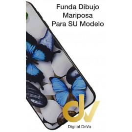 DV  J4 PLUS  SAMSUNG  FUNDA DIBUJO RELIEVE 5D MARIPOSAS