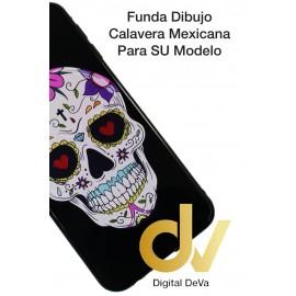 DV  J4 PLUS  SAMSUNG  FUNDA DIBUJO RELIEVE 5D CALAVERA