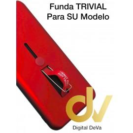 A30 Samsung Funda Trivial 2 en 1 Rojo