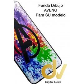 A30 Samsung Funda Dibujo 5D Aveng