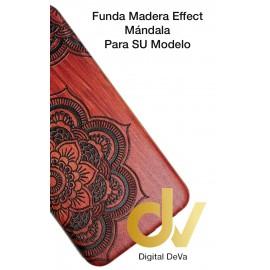 S9 Plus Samsung Funda Madera Efect MANDALA