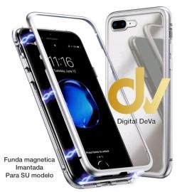 DV S9 SAMSUNG FUNDA METALICA  MAGNETICA PLATA