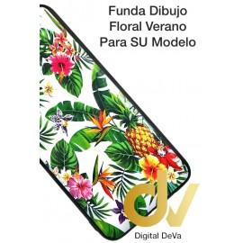 A30 Samsung FundaDibujo 5D Flores Tropical
