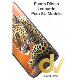 A30 Samsung Funda Dibujo 5D Leopardo
