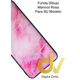 A30 Samsung Funda Dibujo 5D Marmol Rosa